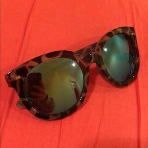 BP Turquoise Mirrored Sunglasses